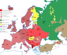 Post with 6346 views. Etymology map for the word new in Europe [OC] European Map, Semitic Languages, European Languages, Digital Art Girl, Historical Maps, Geography, Planer, Funny Jokes, World