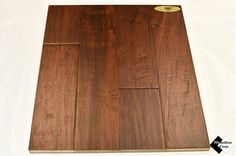 "5"" Engineered Distressed Wide Leaf Acacia Bridle Hardwood Flooring"