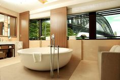 SYDNEY - A tub with an amazing view, Park Hyatt