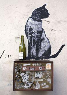 Street art by Suriani in Paris. #streetart
