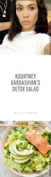 Kourtney Kardashian Detox Salad