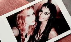 Clary and Isabelle,