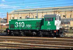 RailPictures.Net Photo: 310.038 Adif -Administrador de infraestructuras ferroviarias- MACOSA 310 class at Valladolid - Campo Grande Station, Spain by H.H González: