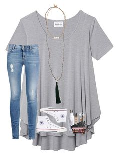 """""""i want this s'well!"""" by lindsaygreys ❤️ liked on Polyvore featuring Olive + Oak, S'well, STELLA McCARTNEY, Converse, New Directions, Lead, Kendra Scott, Alex and Ani, Smashbox and Kat Von D"""