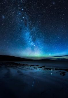 A surreal sight at the Isle of Harris in Ireland.