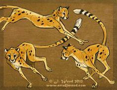 •DoodleWood• Cheetah