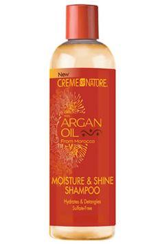 CREME of NATURE Argan Oil Moisture&Shine Shampoo (12oz)