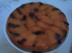 Tarte Tatin Pommes Raisins au miel Juste Fantastique