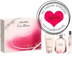 Estuche Shiseido Ever Bloom Edp 50 ml + Regalo Leche Corporal + 10 ml.  Cofre regalo del perfume femenino Shiseido Ever Bloom Eau de Parfum Spray 50 ml