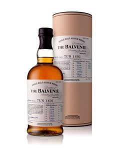 The Balvenie introduceert Tun 1401 Batch 2 in Nederland Whisky, Whiskey Bottle, Personal Care, Drinks, Yum Yum, Bottles, Alcohol, Wine, Drinking