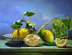 Luigi Grassia nació en Avellino, Italia, en 1946, asistió al Instituto de Arte de su ciudad, donde aprendió los rudimentos del dibujo ... Luigi, Still Life 2, Pear, Fruit, Food, Paintings, Google, Design, Italy