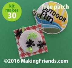 "Girl Scout Swaps Craft Kit ""Ants on a Picnic"" with Free Patch"