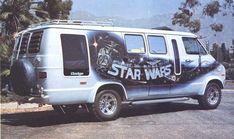 1970s Custom Van ~ Airbrushed Star Wars Scenic