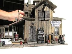 The Art of Todd Gamble: Details placed on the finished FSM HO-scale model kit