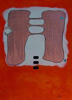 "Saatchi Online Artist ABBA ARTIST; Painting, ""SoS in the Cloud "" #art"