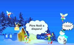 """""""Le Père Noël a disparu"""". Conte à exploiter en classe FLE: quiz de compréhension orale, transcription téléchargeable et autres activités en ligne"""
