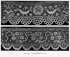 Folk Embroidery and Needlelace from Peasant Art of Austria and Hungary by Charles Holme
