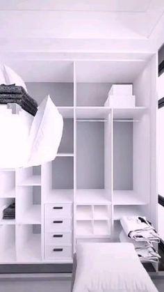 Small House Interior Design, Design Your Own Home, Small Room Design, Home Room Design, Kids Room Design, Bedroom Closet Design, Bedroom Furniture Design, Small Room Bedroom, Girl Bedroom Designs