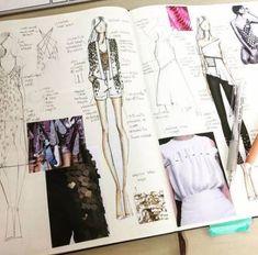 Fashion Design Portfolio Research Sketchbook Pages 22 Trendy Ideas