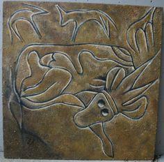 Sahara Desert Petroglyphs painting by Kathleen Scott