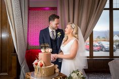 They look lost in each others eyes! Katie & Adam chose this beautiful two tier cake created by O'Carrolls Cakes. Photo by Adrian O'Neill Wedding Photographer Wedding Photo Gallery, Wedding Photos, The Island Book, Broken Book, Two Tier Cake, Tiered Cakes, Wedding Cakes, Photo Galleries, Spa