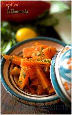Salade de carottes à la chermoula marocaine (marinade)