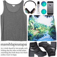Is this #OOTD, by neon-aesthetics, YOUR style? http://polyv.re/ootd723