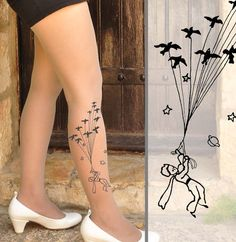 Hey, I found this really awesome Etsy listing at https://www.etsy.com/listing/168090377/the-little-prince-tights-shoe