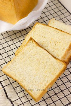 Tangzhong Wholemeal Loaf Ingredients: 110 gm milk 45 gm whisked egg 100 gm Tangzhong (refer to this recipe) 40 gm sugar 5 gm salt 200 gm bread flour 150 gm wholemeal / whole wheat flour 6 gm instant dry yeast 40 gm unsalted butter, softened at room temperature