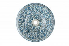 Badra - Hand painted sink from Morocco