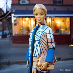 Made my way down to the West Village to visit @MagnoliaBakery. It's @kristina_bazan's favorite, have you been? #nyfw #barbie #barbiestyle