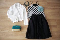 El look ideal, femenino y chic combina prenda midi con complementos originales.  FALDA MIDI > http://www.colettemoda.com/producto/falda-midi-negra/