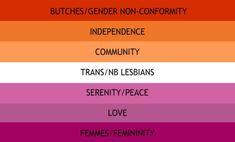 new lesbian flag mayhaps?