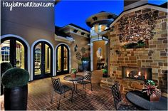 Ah, more outdoor places to play & relax. Sit around the fire, chat, toast some s'mores. From Avalon at Cinco Ranch 80s community, Houston division.