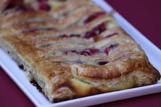 Pots and Frills: Cranberries and Mascarpone Puff Pastry--French Classic with an American Twist French Puff Pastry, French Pastries, French Cake, French Classic, No Frills, Just In Case, Delish, Bread, Cranberries