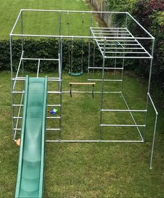 Customised Play & Climbing Frame With Monkey Bars - Simplified Building