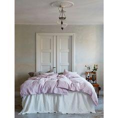 Lovely Linen Sängkappa, Off White - 2 storlekar