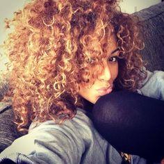 Instagram photo by @Connie Hamon Hamon Hamon Hamon Call me via ink361.com black girl blonde hair