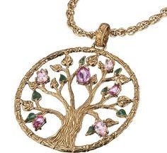 4 Elements, Gold Necklace, Pendant Necklace, Jewelry, Switzerland, Germany, Gold Pendant Necklace, Jewlery, Jewels