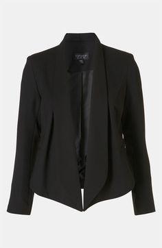 Slim + Sexy blazer | Topshop Tux Lapel Blazer | Nordstrom