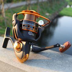 Spinning Fishing Reel 12BB + 1 BB 500-9000 Series Spinning Reel Boat Rock Fishing  #fishingtrends