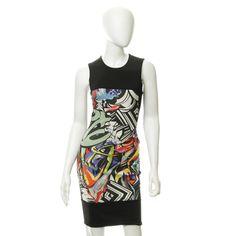 Just Cavalli Dress with graffiti motif