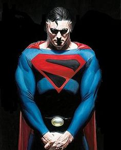 Superman - Reino do Amanhã (Terra - 22) Arte Do Superman, Batman E Superman, Superman Man Of Steel, Arte Dc Comics, Dc Comics Heroes, Wallpaper Do Superman, Superman Artwork, Alex Ross, Lego Dc