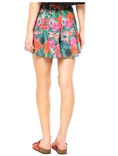 Short FiveBlu Floral Multicolorida - Compre Agora | Dafiti Brasil