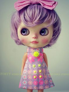 A Doll A Day. Aug 22. Lollipop by Forty Winks Doll Studio, via Flickr