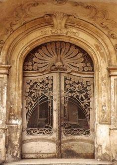 Art Noveau Door