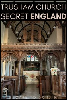 Want to discover medieval history in rural England? Here's how to visit Trusham Church: A Historic St Michael's Church in the Teign Valley in Devon, South West England Michael Church, St Michael, Domesday Book, Dartmoor National Park, Valley Village, Listed Building, 12th Century, Great Britain, Devon