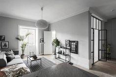 appartement déco scandinave grise 1