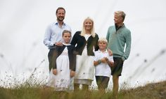 Crown Prince Haakon and family (Norway)