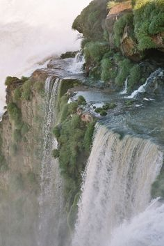 Iguazu Falls, pictures can not do the falls justice. One should see these in person before they die.